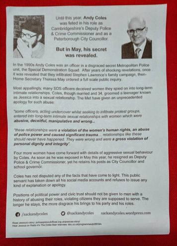 Coles ward leaflet v2 back